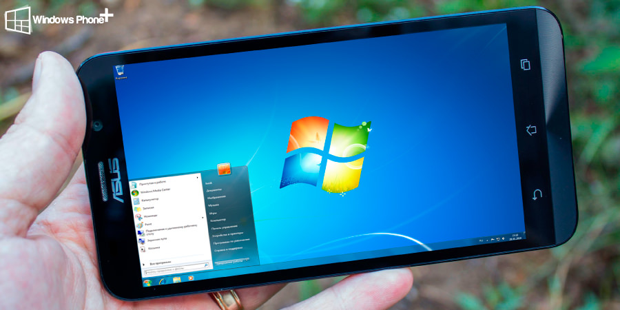 Windows 7 run on an Asus ZenFone 2