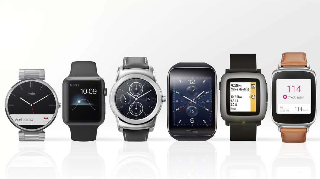 Price Upcoming Smartwatches 2015 Samsung, Asus, LG, Huawai and Moto